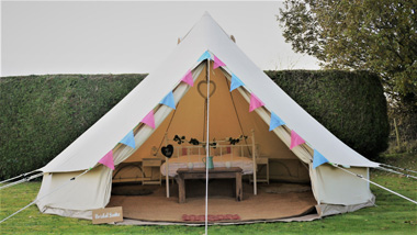 Bridal bell tents for weddings Cotswolds - Bridal Bell Suite ... & The Luxury Tent Company | Bell tents for hire Wiltshire Indian ...