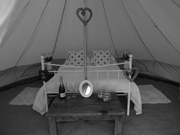 Bell tent hire Cirencester Gloucestershire