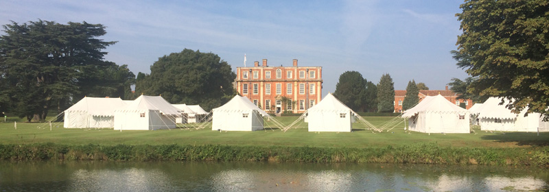Pop-up additioanl hotel accommodation Wiltshire, luxury pop-up tent villages Gloucestershire