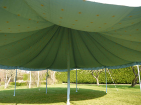 30ft round party tent